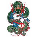 タトゥーシール ドラゴン1(タトゥー・刺青シール)