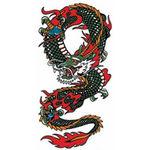 タトゥーシール ドラゴン2(タトゥー・刺青シール)