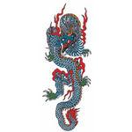 タトゥーシール ドラゴン3(タトゥー・刺青シール)