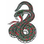 タトゥーシール 大蛇(タトゥー・刺青シール)