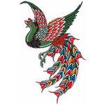 タトゥーシール フェニックス(タトゥー・刺青シール)