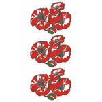 タトゥーシール ケシの花(タトゥー・刺青シール)