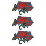 タトゥーシール 花薔薇(タトゥー・刺青シール)