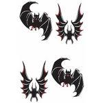 タトゥーシール 蝙蝠(タトゥー・刺青シール)