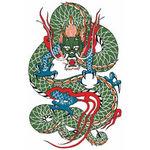 タトゥーシール 玉龍(タトゥー・刺青シール)