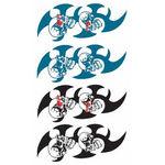 タトゥーシール 髑髏・トライバル(タトゥー・刺青シール)