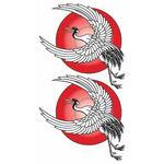 タトゥーシール 丹頂鶴(タトゥー・刺青シール)
