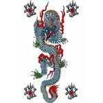 タトゥーシール 青龍(タトゥー・刺青シール)