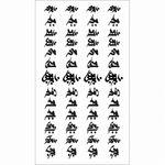 タトゥーシール 梵字13仏腕輪(タトゥー・刺青シール)