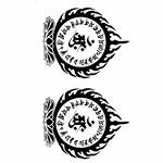 タトゥーシール 曼荼羅2(タトゥー・刺青シール)