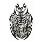 タトゥーシール タイガートライバル(タトゥー・刺青シール)