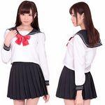 AKIBA清純セーラー 長袖(衣装・コスチューム)