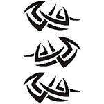 タトゥーシール トライバル16(タトゥー・刺青シール)