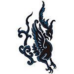 タトゥーシール ガルーダ2(タトゥー・刺青シール)