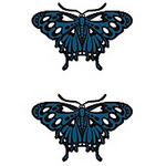 タトゥーシール 青の蝶(タトゥー・刺青シール)