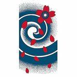 タトゥーシール 桜吹雪3(タトゥー・刺青シール)