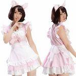 ネコ耳メイド ピンク(衣装・コスチューム)