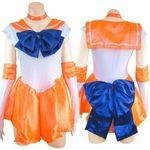 セーラー戦士 オレンジ(コスプレ衣装)