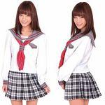 グレフルAKIBA学園セーラー(衣装・コスチューム)