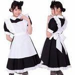 リボンメイド・黒(衣装・コスチューム)