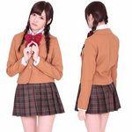 私立高等学園女子部ブレザー制服スカート(衣装・コスチューム)