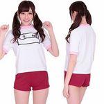ゼッケン付き体操服ピンク(衣装・コスチューム)