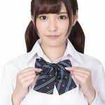 きゅん可愛スクールリボン 紋章ブルーストライプ(衣装・コスチューム)