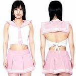 エロコス セーラー服D ピンク(衣装・コスチューム)