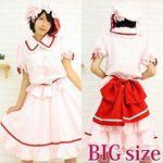 東方プロジェクト17(レミリア・スカーレット) BIG(コスプレ衣装)