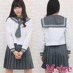 私立の高等学校セーラー服(旧女子部・中間服) M(衣装・コスチューム)
