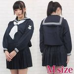 女子中学校セーラー服(冬服) M(衣装・コスチューム)