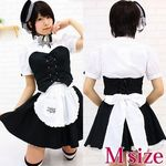Newミアカフェ・ミアリラミニ制服(立て襟) M(衣装・コスチューム)