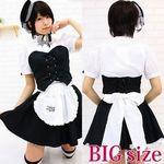 Newミアカフェ・ミアリラミニ制服(立て襟) BIG(衣装・コスチューム)