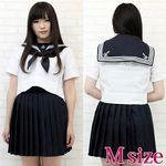 私立女子校のセーラー服(夏服) M(衣装・コスチューム)