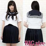 私立女子校のセーラー服(夏服) BIG(衣装・コスチューム)