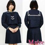 名門学園セーラー服(冬服) M(衣装・コスチューム)