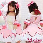 ピンクジャム魔法少女風セット M(コスプレ衣装)