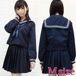 大阪の女子高セーラー服(冬服) M(衣装・コスチューム)