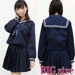 大阪の女子高セーラー服(冬服) BIG(衣装・コスチューム)