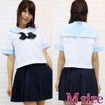 キリスト系女学院の学生服(夏服) M(衣装・コスチューム)