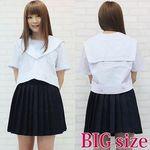 元女子高のセーラー服(夏服) BIG(衣装・コスチューム)