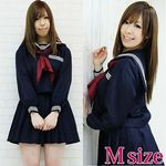 長袖セーラー服セット M(衣装・コスチューム)