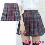 チェック柄プリーツスカート BIG(衣装・コスチューム)