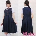 スクールジャンパースカート制服セット M(衣装・コスチューム)