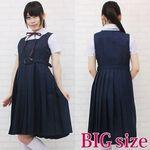 スクールジャンパースカート制服セット BIG(衣装・コスチューム)