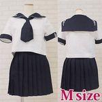 私立女子学園のセーラー服(夏服) M(衣装・コスチューム)