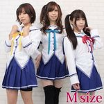 風見学園付属 女子制服(リボン3色セット) M(コスプレ衣装)