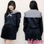 大阪の伝統女子高セーラー服(冬服) M(衣装・コスチューム)