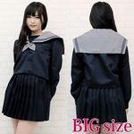 大阪の伝統女子高セーラー服(冬服) BIG(衣装・コスチューム)