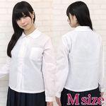 丸襟長袖シャツ単品 M(衣装・コスチューム)